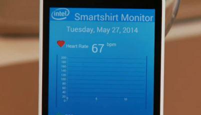 생체신호를 측정하는 스마트 셔츠