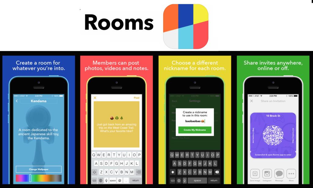 페이스북, 익명 게시판 앱 'Rooms' 출시