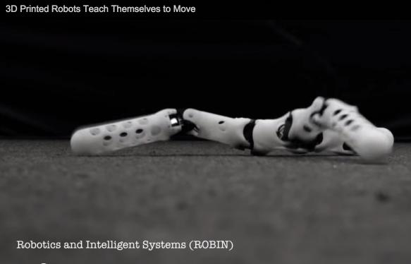 스스로 환경에 적응하고 자가치유 하는 로봇