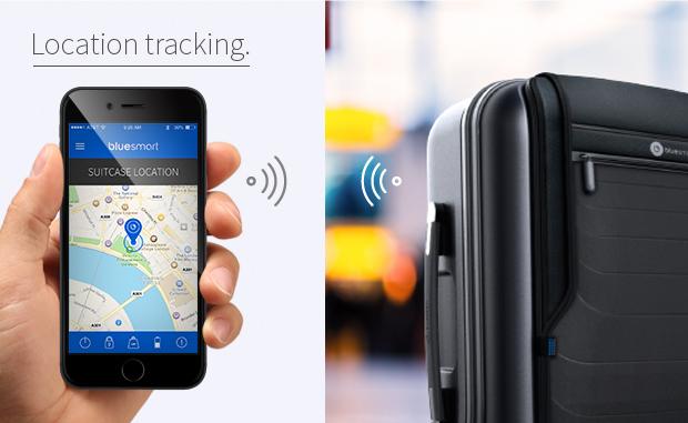 위치 추적이 가능한 스마트 여행가방: BlueSmart