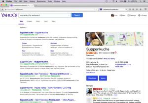 파이어폭스, 구글 대신 야후를 검색엔진으로 선택