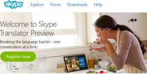 Skype 실 시간 번역 서비스 개시