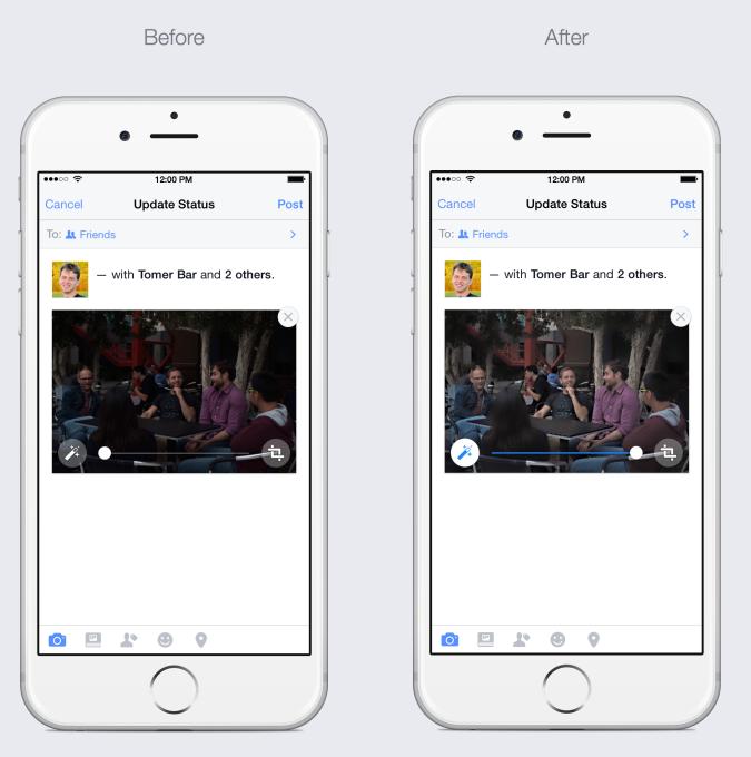 페이스북, 사진을 자동으로 보정하는 알고리즘 적용