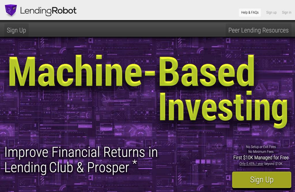 P2P 대출 자동화 스타트업 LendingRobot $3M 투자유치